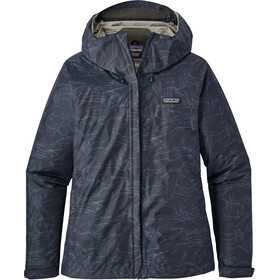 Patagonia Torrentshell Jacket Women Lamp Lights: Navy Blue